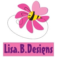I am part of the Lisa B. Design's Design Team!